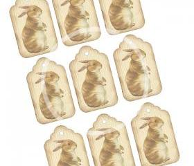 Bunny Tags Digital Download